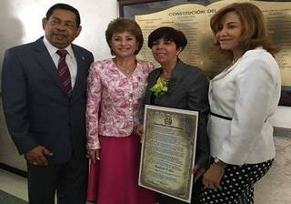 Diputados ultramar reconocen dominicana meritoria