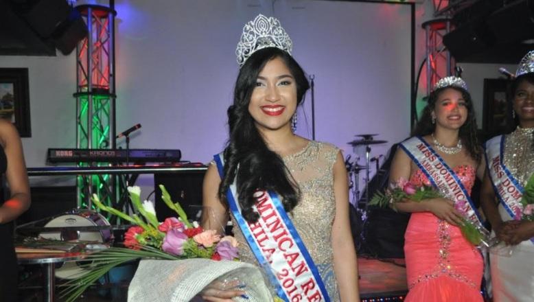 Milka Serrata fue elegida reina de la belleza dominicana en Filadelfia