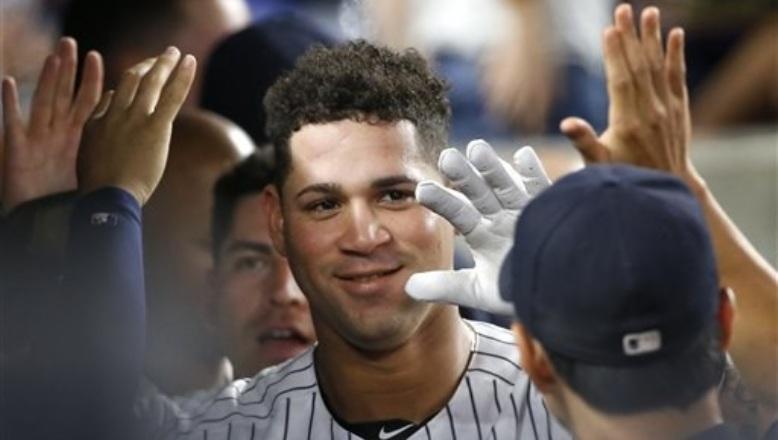 Gary Sánchez pega doble y jonrón en triunfo de Yankees