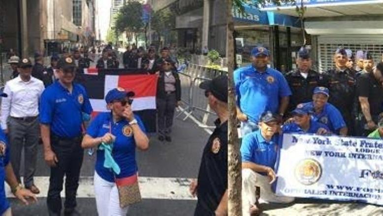 30 policías dominicanos intercambiaron experiencias con FOP-920 en NY