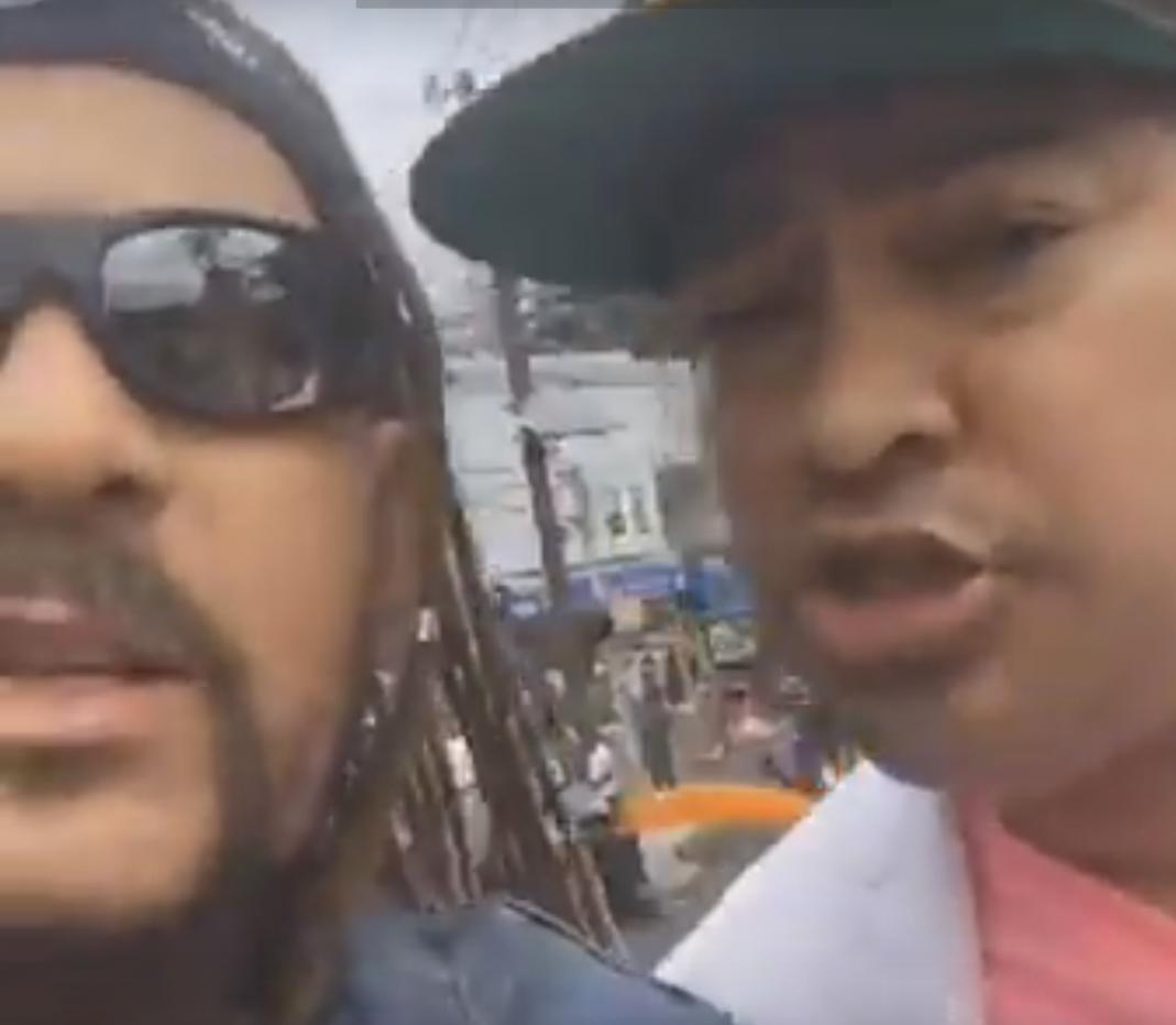 (VÍDEO) El Pacha y Toño Rosario dejan atrás las diferencias mostrando bonita amista en desfile dominicano de Paterson NJ .