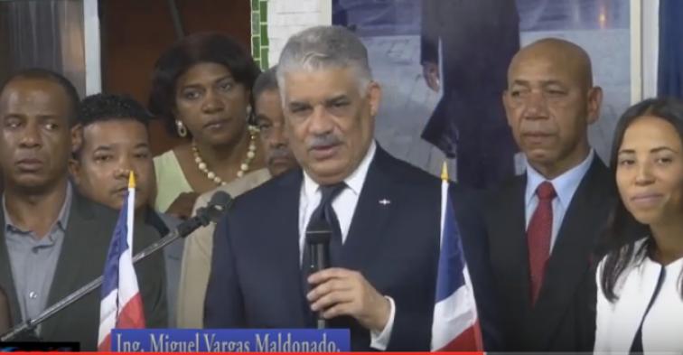 (VÍDEO )Visita del presidente del PRD Miguel Vargas Maldonado a seccional NY