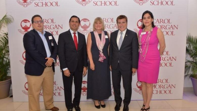 CarolMorgan School inauguró moderno edificio multi-usos y anunció programa de becas