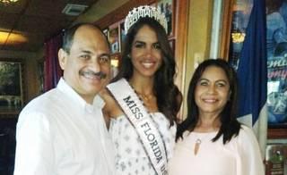 Primera dominicana coronada como Miss Florida USA reitera orgullo de sus raíces