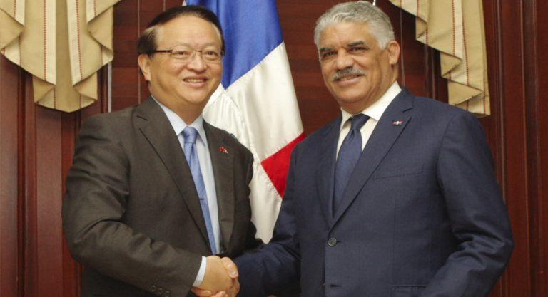 Canciller Vargas destaca la colaboración de Taiwán a la RD
