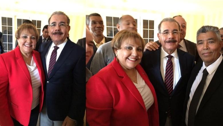 Danilo se reunió con seccional del PLD en Nueva Inglaterra