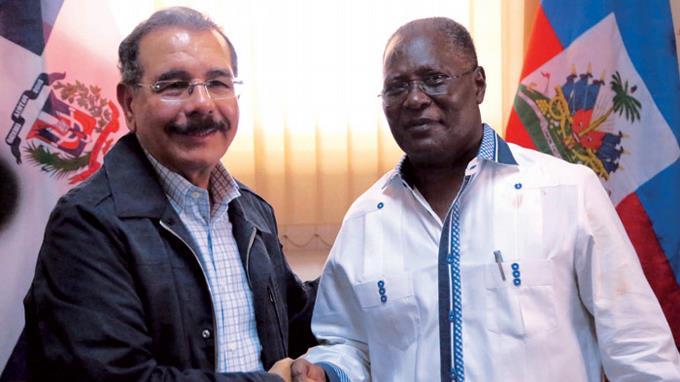 Presidente de Haití expresó a Miguel Vargas su agradecimiento al Presidente Danilo Medina por ayuda