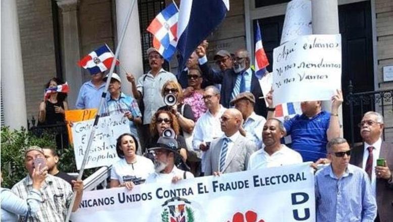 DUCFE vuelve a la calle en solidaridad con RD