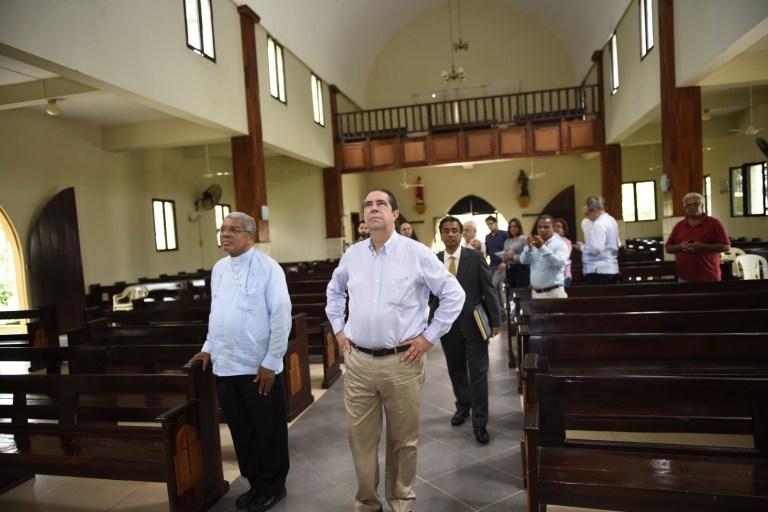 Francisco Javier y monseñor Ozoria apuestan al turismo religioso en el país