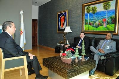 En visita al Min. de Turismo, Pdte de Asonahores dice existen condiciones para crecimiento del turismo RD