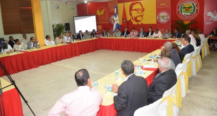 Entre divergencias, Quique Antún convoca el Comité Político del PRSC