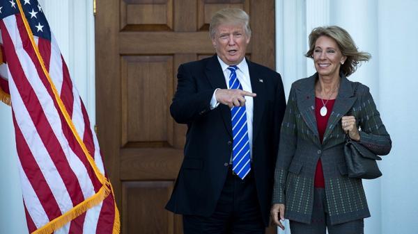 Donald Trump sumó otra mujer a su gabinete: la millonaria Betsy DeVos será secretaria de Educación