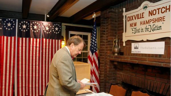En los primeros resultados Clinton gana en el pueblo Dixville Notchs