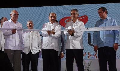 Pdte. Medina asiste a inauguración del hotel Now Onyx Punta Cana de AMResorts y NH Hoteles