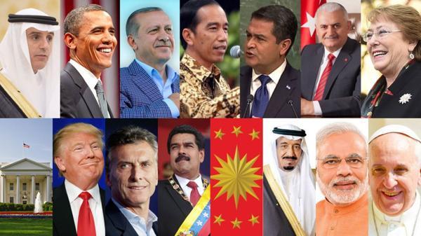 Los líderes mundiales más influyentes en las redes sociales en 2016