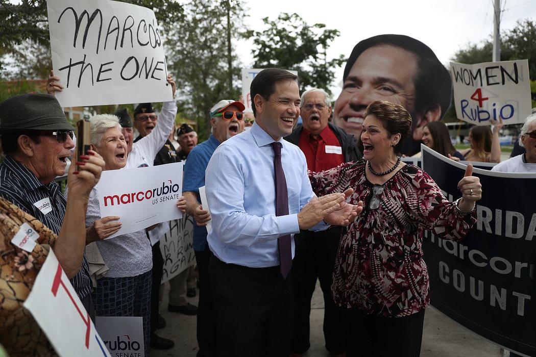 Marco Rubio es reelegido como senador en Florida