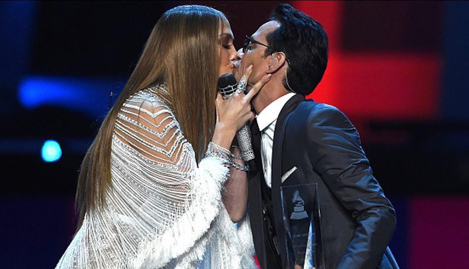 Jennifer Lopez y Marc Anthony se besaron en los Latin Grammy. ¿Y Shannon de Lima?