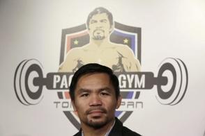 Manny Pacquiao no descarta una revancha con Floyd Mayweather Jr.