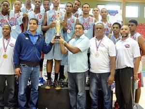 DN triunfa en torneo nacional basket U-16