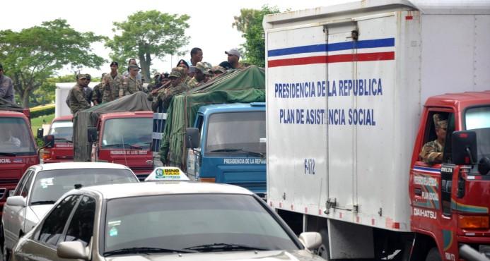 Autoridades incrementan la seguridad a camiones con cajas navideñas