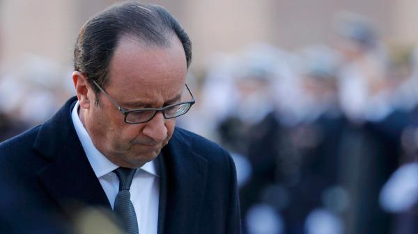 François Hollande anunció que no será candidato en las próximas elecciones presidenciales de Francia