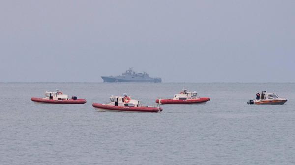 Hallaron una de las cajas negras del avión ruso que cayó en el mar Negro
