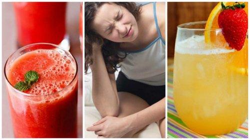 5 jugos saludables para combatir los síntomas de la resaca