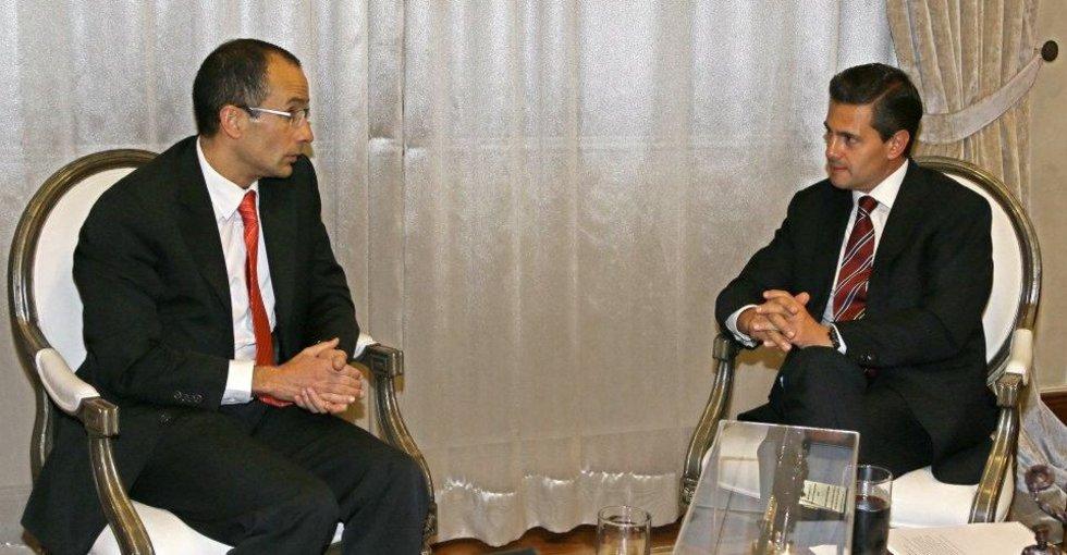 Jefe de Odebrecht se reunió con Peña Nieto días antes de dar sobornos a funcionarios mexicanos