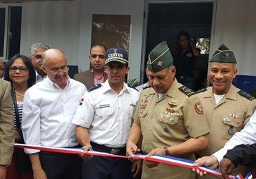 Cuerpo Especializado de Seguridad Turística de RD inaugura Módulo Ecológico de Asistencia al Turista