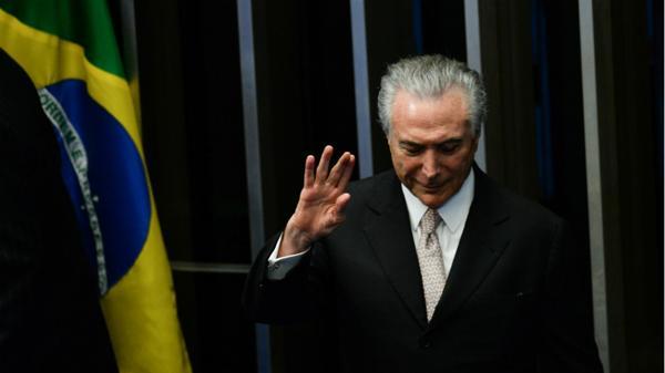 Un 63% de los brasileños desea que Michel Temer renuncie antes de fin de año