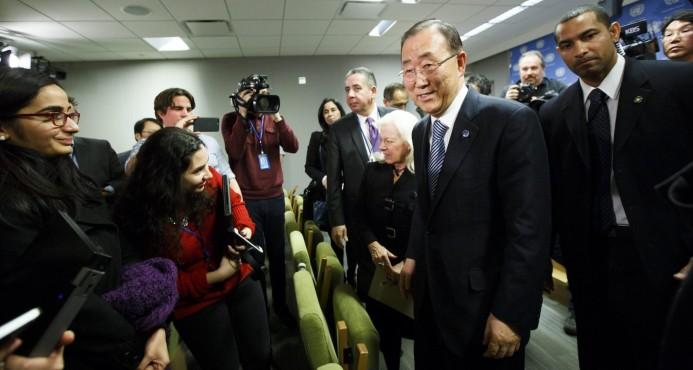Ban Ki-moon deja en el aire una posible candidatura a presidir Corea del Sur