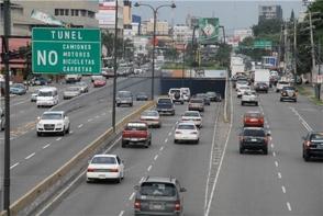 Cerrarán esta semana los túneles y elevados del Gran Santo Domingo en la noche