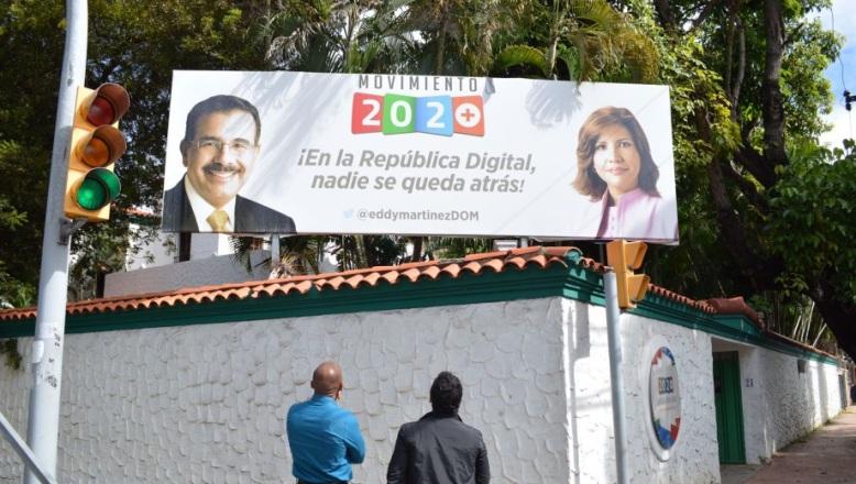 """En las """"narices"""" del Palacio Nacional ya promueven reelección de Medina y Margarita"""