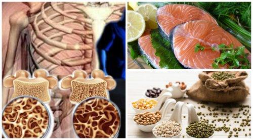 Alimentos para proteger tu densidad ósea al llegar a la menopausia