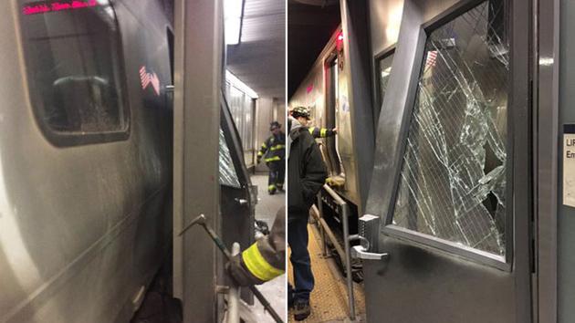 Al menos 76 heridos dejó el descarrilamiento de un tren en Nueva York