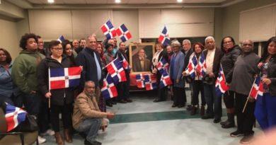 Seccional del PLD en Boston honra a Duarte en el 204 de su natalicio