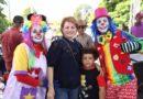 Diputada Lucía Medina entrega juguetes a niños de su comunidad