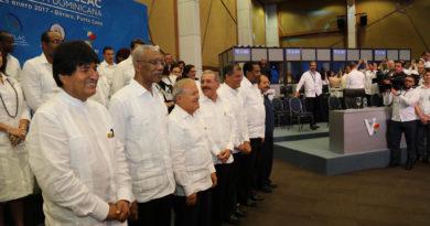 Gobernantes expresan satisfacción por logros alcanzados en Cumbre
