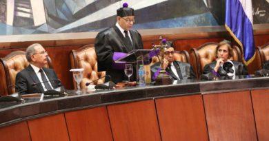 Presidente Danilo Medina asiste a celebración Día del Poder Judicial