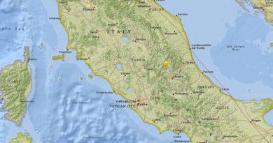 Un sismo de magnitud 5,3 sacude el centro de Italia