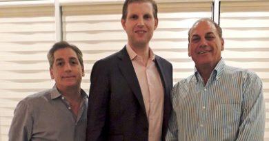 Eric Trump y Cap Cana fortalecen relaciones de proyectos de la Organización Trump