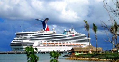 Más de 12 mil turistas llegaron a Puerto Plata a bordo de cuatro cruceros