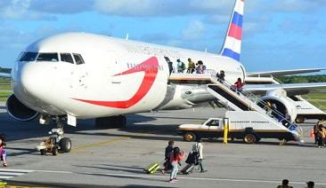 Dynamic Intl. Airways retira solicitud de exención de vuelos EE UU – Rep. Dom. por cambios de operaciones