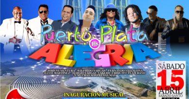 Merengue, Bachata, Salsa y Música Urbana en la inauguración del anfiteatro de la Puntilla del Malecón de PP.