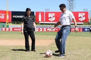 Inauguran etapa futbol en área Santo Domingo