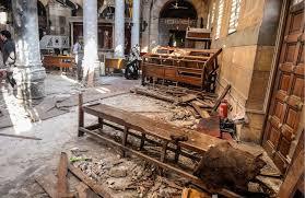 Atentados contra la minoría cristiana copta en Egipto