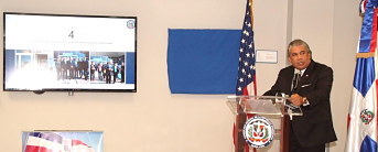 Cónsul RD NY ofrece informe primeros seis meses de su gestión