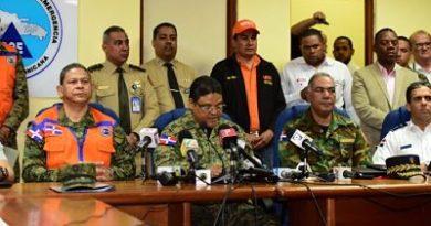 Más de 9,000 desplazados y 25 provincias en alerta por lluvias