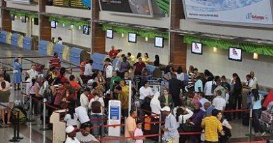 New York principal destino desde y hacia República Dominicana en vuelos regulares y Moscú en Charters