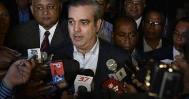 """Luis Abinader: """"Que no se quede nadie"""" en el caso de Odebrecht"""